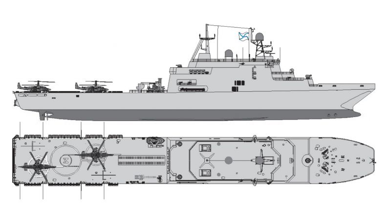 """Project 11711: """"Ivan Gren"""" class - Page 27 Cayman"""