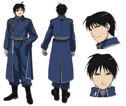 Fullmetal alchemist  (Manga + Anime) Mustang