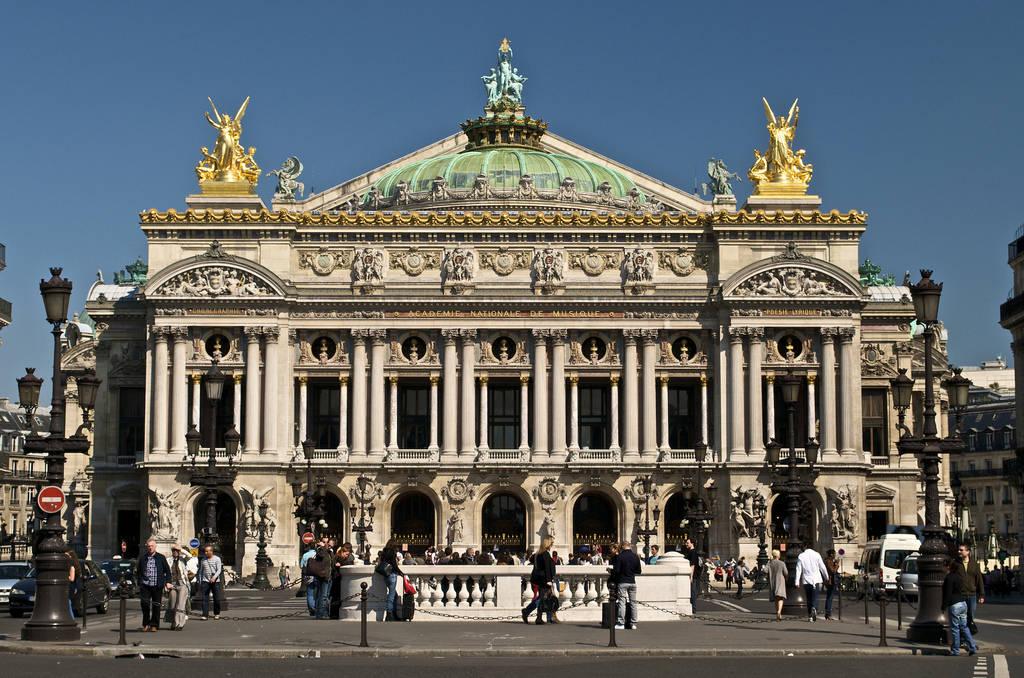Pariska Opera (Paris Opéra – Pariz) Paris-Opera-House
