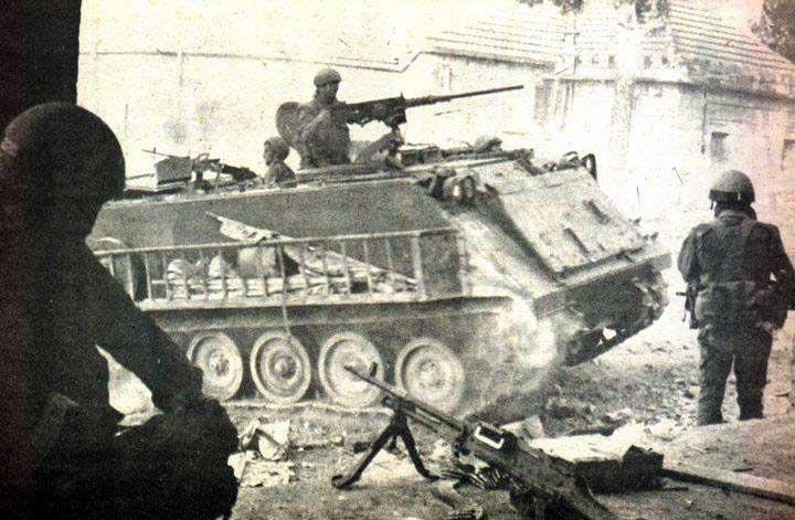 scènes de combat (armée libanaise, palestinien, chrétien...) C539074