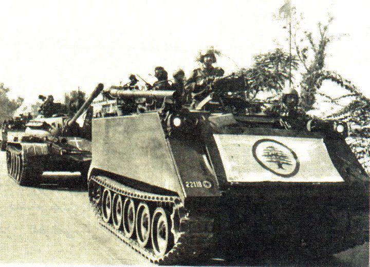 scènes de combat (armée libanaise, palestinien, chrétien...) C604116