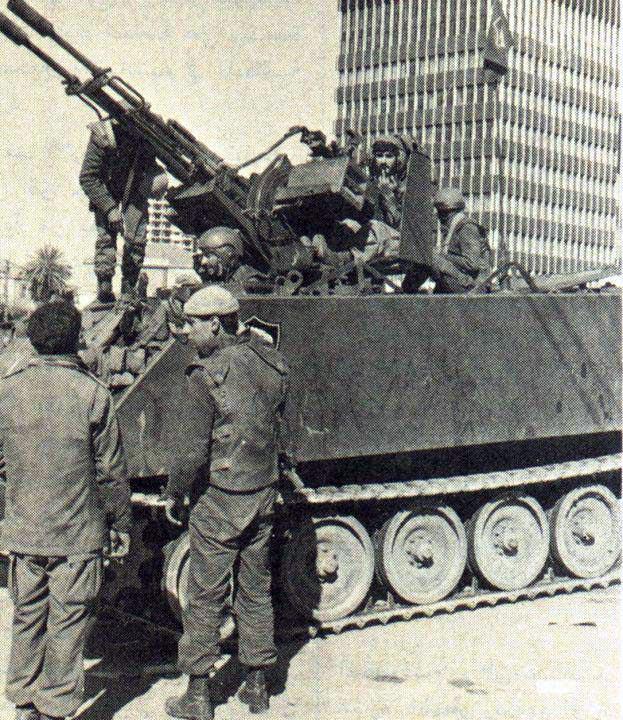 scènes de combat (armée libanaise, palestinien, chrétien...) C9597