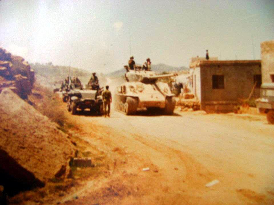 scènes de combat (armée libanaise, palestinien, chrétien...) F528469