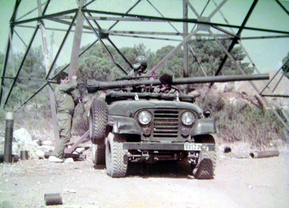 scènes de combat (armée libanaise, palestinien, chrétien...) K60653