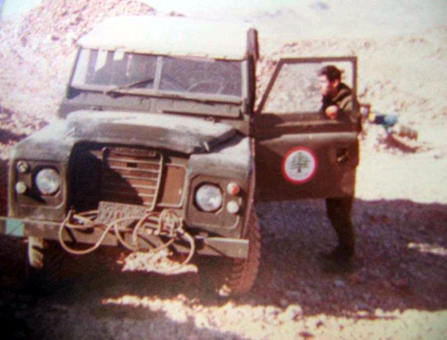 scènes de combat (armée libanaise, palestinien, chrétien...) L45595