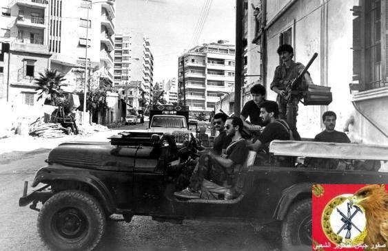 scènes de combat (armée libanaise, palestinien, chrétien...) Pspjp-101