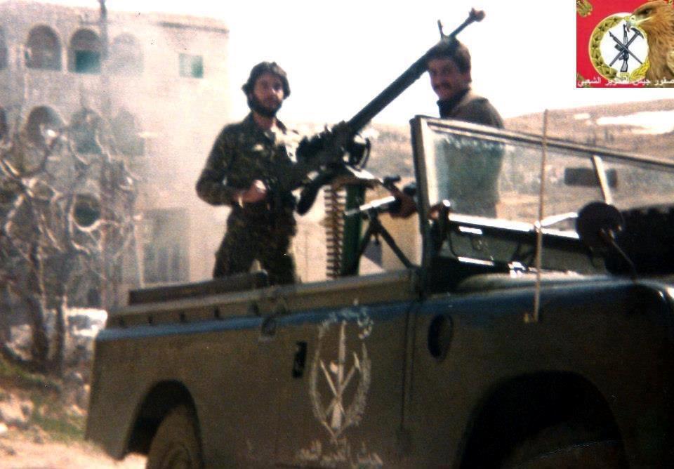 scènes de combat (armée libanaise, palestinien, chrétien...) Psplr-103
