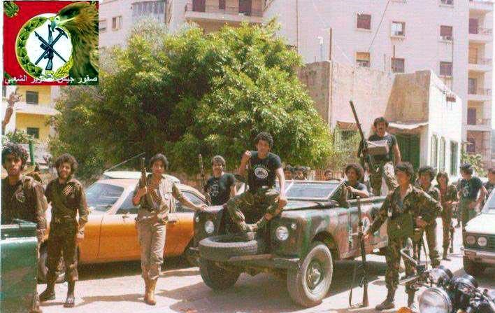 scènes de combat (armée libanaise, palestinien, chrétien...) Psplr-104