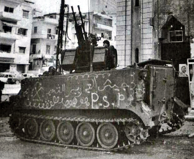scènes de combat (armée libanaise, palestinien, chrétien...) Pspmc-105