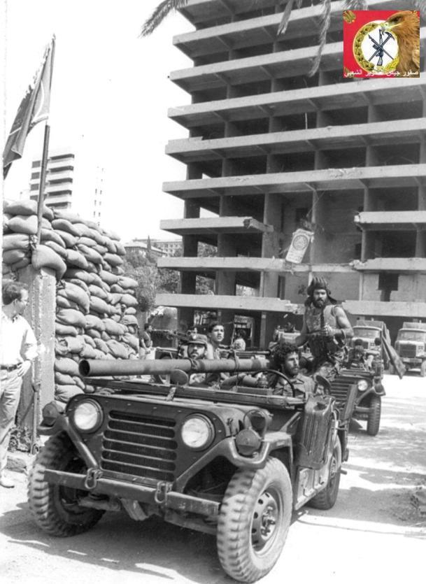 scènes de combat (armée libanaise, palestinien, chrétien...) Pspmu-103