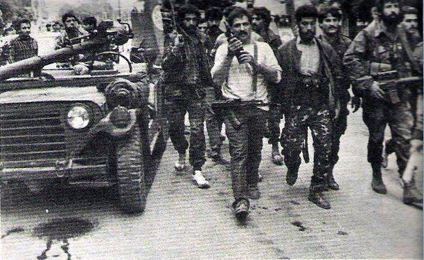 scènes de combat (armée libanaise, palestinien, chrétien...) Pspmu-104