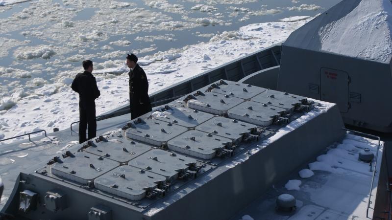 """الطراد الصاروخي الثقيل """"الأدميرال ناخيموف"""" يعود إلى الخدمة BUgCY"""
