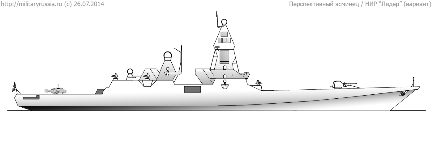 "Promising destroyer ""Lider-class"" 3QH4q"