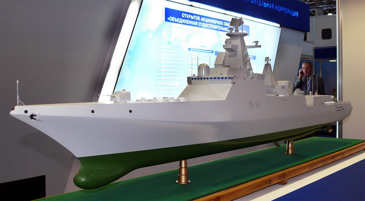 "Promising destroyer ""Lider-class"" Tf77t"