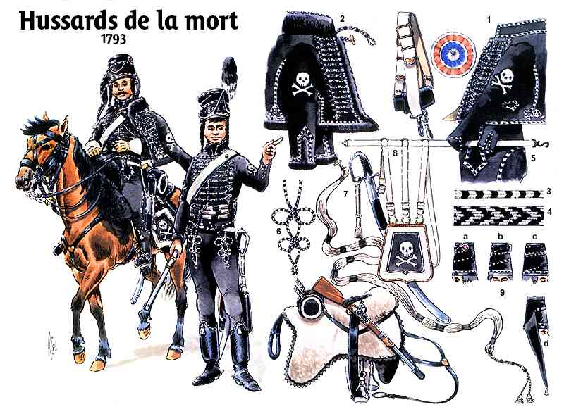 - hussard NS PROD: version hussard de la mort, par laurent Hussards_mort