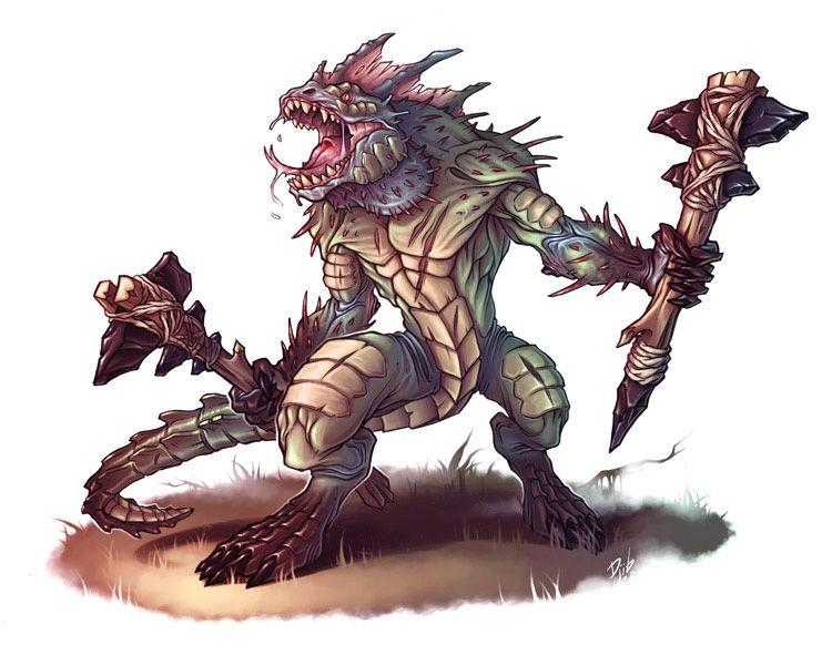 Description des Lieux et monstres présents H55tg44p