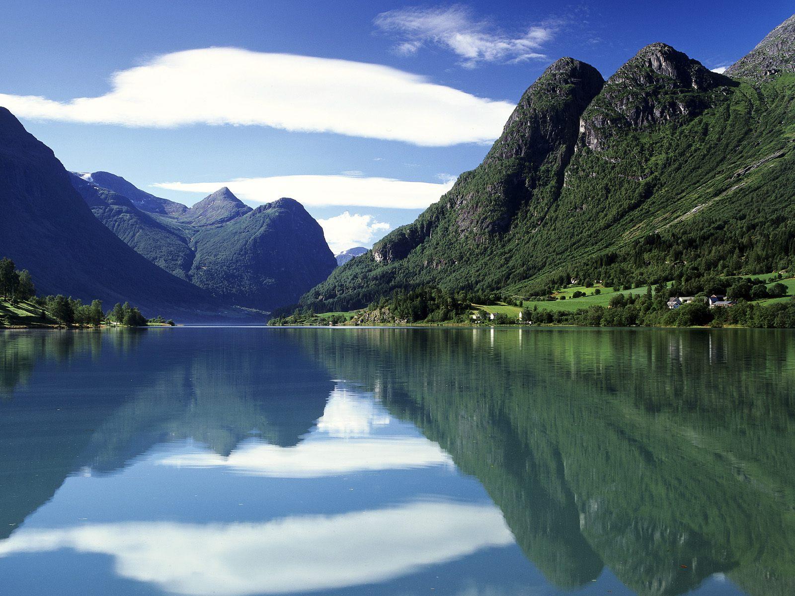 Роскошные пейзажи Норвегии - Страница 21 Oldenvatnet-(Norway)