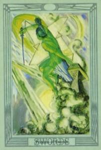 таро - Принцессы в Таро Алистера Кроули S111-203x300