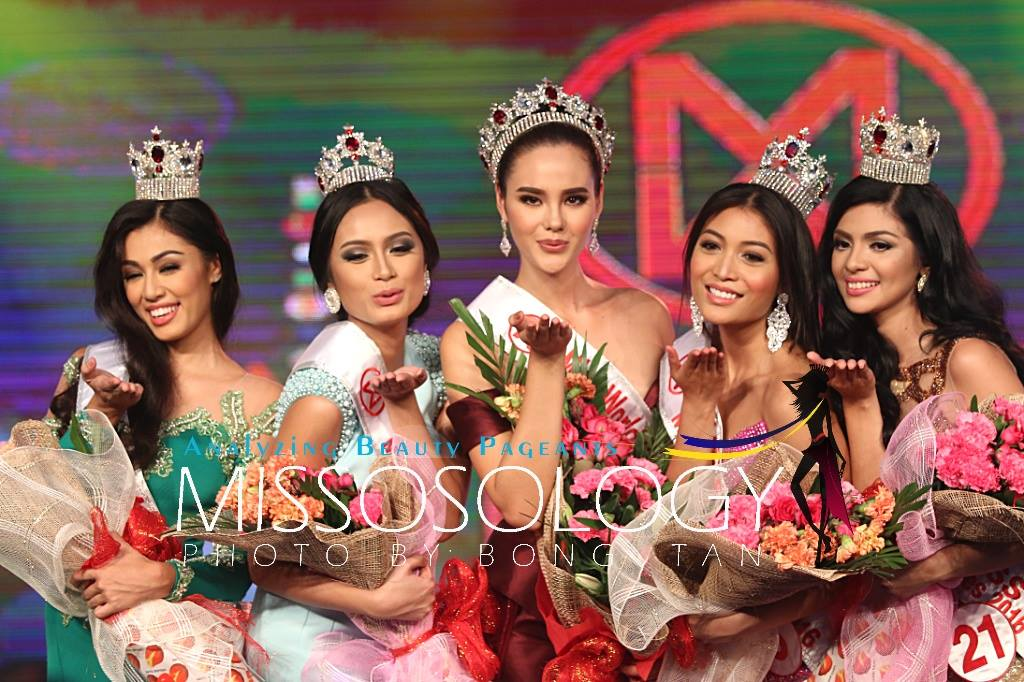 Catriona Elisa Gray (PHILIPPINES WORLD 2016 & UNIVERSE 2018) Winners