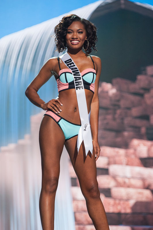 miss usa 2017, preliminary competition.  Delaware-1