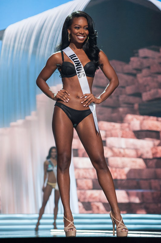 miss usa 2017, preliminary competition.  Illinois-2