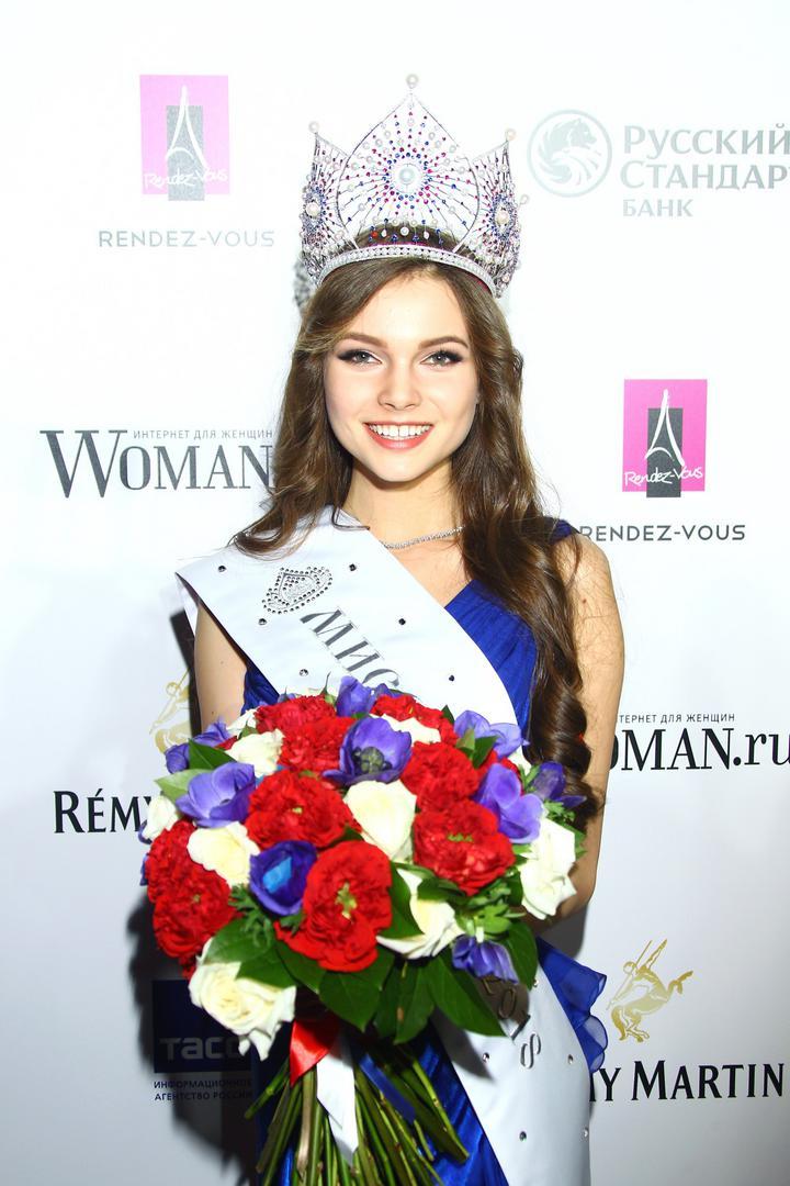 fotos top 3 de miss russia 2018.  Polyachihina