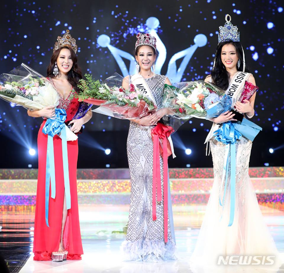 korea para miss universe, miss world e miss supranational 2018. 39926323_710877602599817_179505022810193920_n