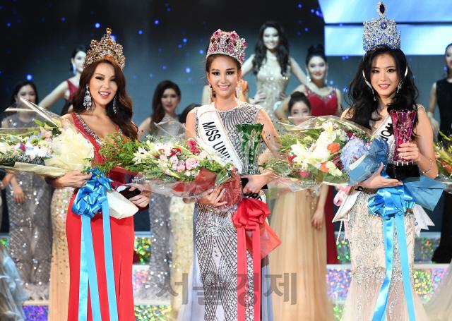 korea para miss universe, miss world e miss supranational 2018. Korea
