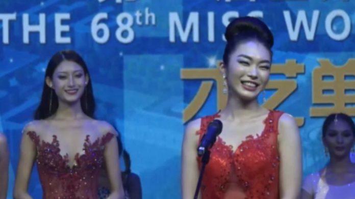 miss japan vence fast track miss talent de miss world 2018. miss japan esta classificada para final de mw 2018. Capture-696x391