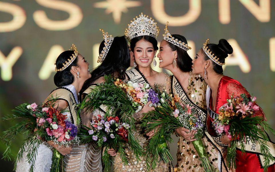 vencedora de miss universe myanmar 2019. 61468550_2551880188180204_6128601573258952704_n