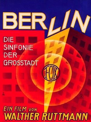 Cine mudo ( algo podria surgir de estos silencios ) - Página 2 Berlin-symphonie-poster