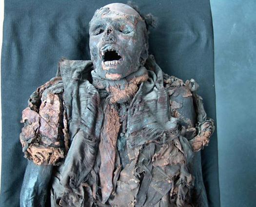 Le plus vieux fromage du monde, découvert sur une momie ! Mummy