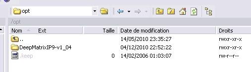 DeepMattrix on your  own server Opt_dm