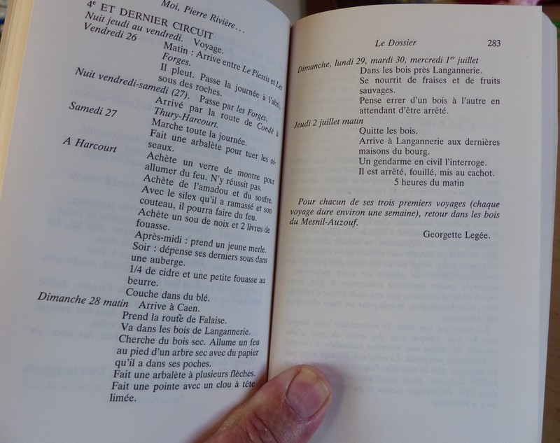 """""""Moi, Pierre Rivière, ayant égorgé ma mère , ma soeur et mon frère ..."""" Moipierre8282283"""