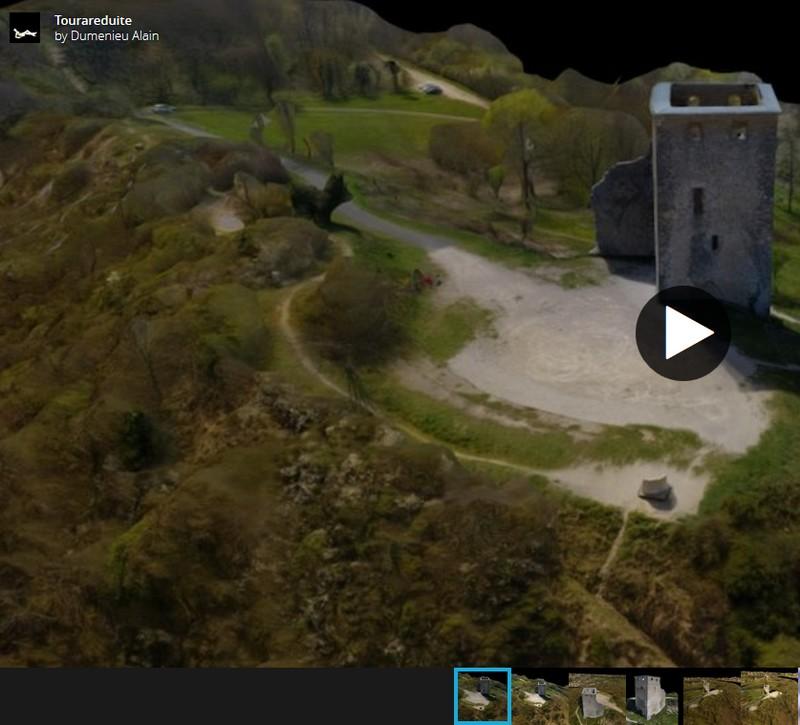 3D scans par drone Playlist6tours