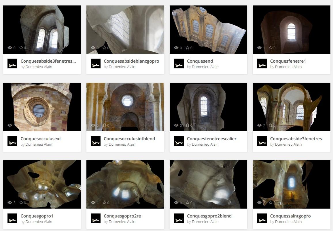 Aveyronnaise 2: Soulages, le musée de Rodez et les vitraux de Conques - Page 6 Conquesles12