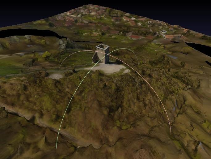 3D scans par drone Tour3dpourdominique
