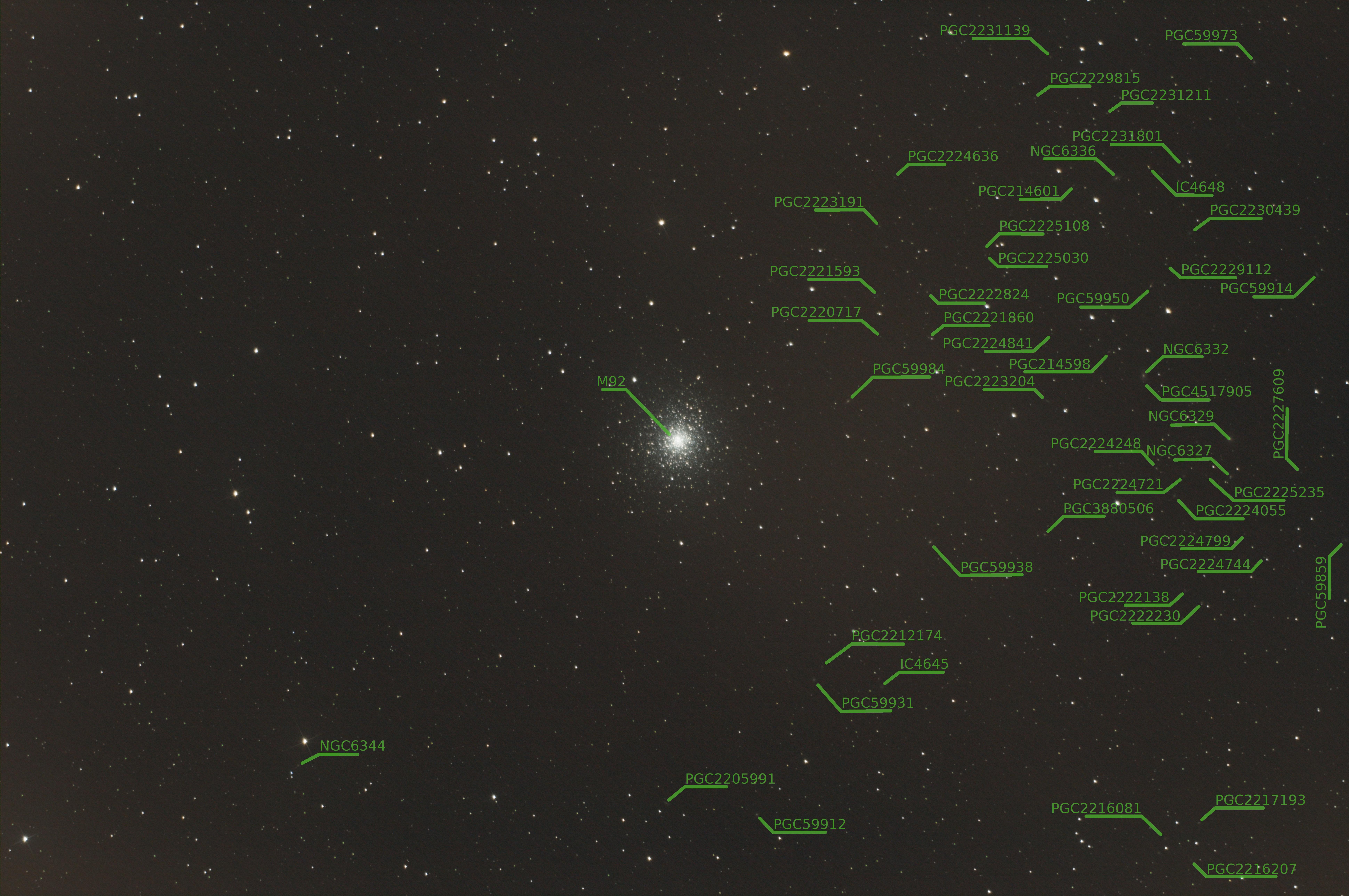 M92 - Le petit amas d'Hercule 0010.2b.M92.commenter
