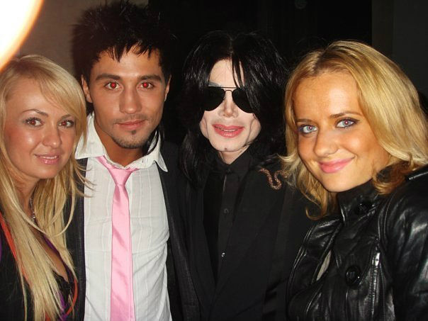 Michael Jackson Com Famosos GetImage