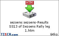 Sezoens Rally  22mquua
