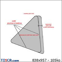 mittal - 2013: le /11 à entre 12h et 14h - Ovni en Forme de triangle - dunkerque - Nord (dép.59) 4sisynaj