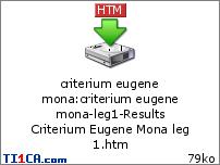 Criterium Eugene Mona 5wmn44
