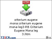 Criterium Eugene Mona Acezxpwj