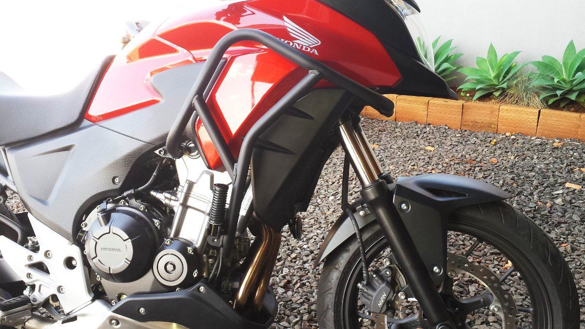Protetor de Motor Livi Motorparts Protetor-motor-honda-cb-500x-528101-MLB20282794327_042015-F