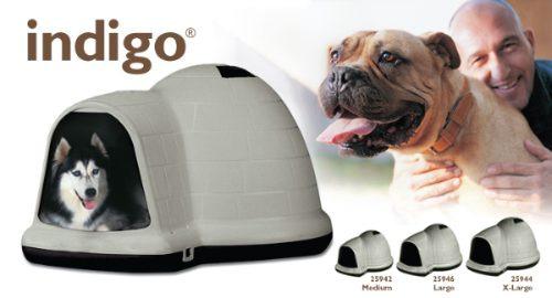 "Avis sur la niche ""Dogloo"" ?  Oferta-casa-dogloo-indigo-mediana-iglu-petmate-para-perro-2659-MLM27850334_7702-O"
