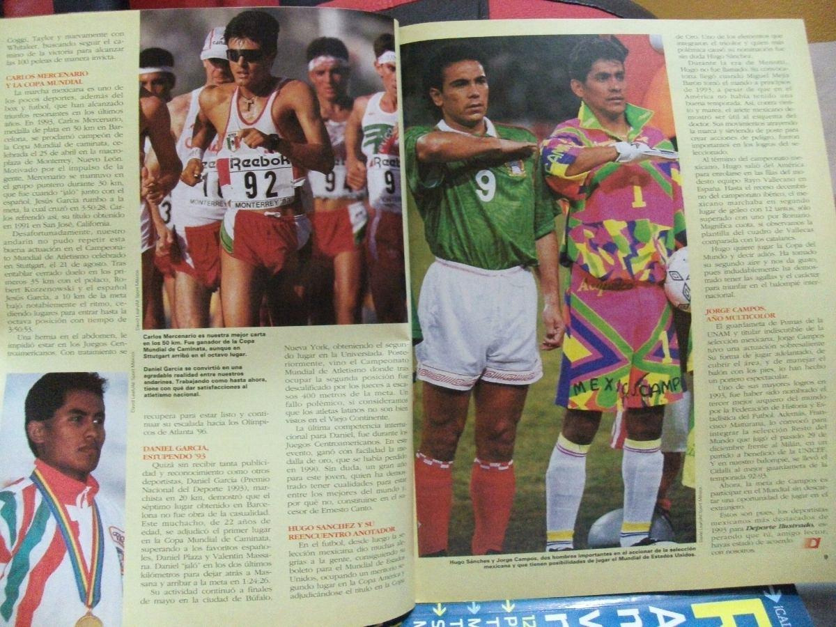 ¿Cuánto mide Jorge Campos? (El Brody) - Altura - Real height Revista-ilustradohugo-sanchez-jorge-campos-mercenario-etc-481801-MLM20406835793_092015-F