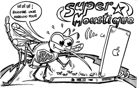 ANNIVERSAIRE DE DYNAMOSQUITO Moustique-Apple