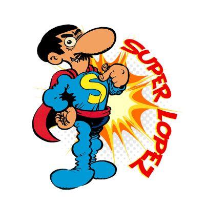 Personaje de comic Camiseta-superlopez-large2