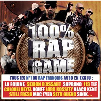 100% rap game - new 2011 [DF]  U0886443007901