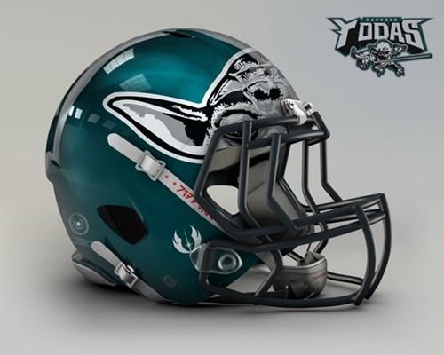 NFL goes Star Wars! Bei welchem Team würdet ihr anheuern? Nfl-philadelphia-eagles-dagobah-yodas